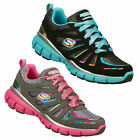 Skechers LITE SPIRIT Youth Girls Leather Athletic Shoe: Two Colors, All Sizes