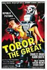 TOBOR THE GREAT 01 CLASSIC B-MOVIE REPRODUCTION ART PRINT A4 A3 A2 A1
