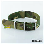 G10 NATO Military Style Watch Strap, COMMANDO 20mm