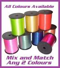 Any 2 Colours of 20 Metre x 5mm Curling Ribbon, Mix and Match