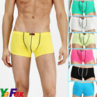 New Shorts Sexy Men's Cotton & Modal Underwear Boxer Trunks Briefs 3 Size S~M~L