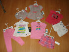 Hurley Infant Girls Two Piece Outfit, Many Styles and Colors, MSRP $40.00-$48.00