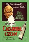 DeWitt's Catarrhal Cream. Australian Advertisement