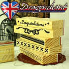 Wooden Border Rubber Stamps Scrapbook Craft Deco Wedding Party Card Making