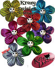 Krazy Daisy in Stripes by Kitty Deluxe EMO Punk Goth Burlesque Rockabilly