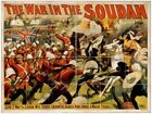 Vintage War In The Soudan Poster CIRCUS1037 Art Print A4 A3 A2 A1