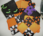 Handmade Halloween Fabric Coasters Cotton