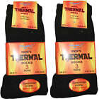 THERMAL Adults 3 PAIR PACK WARM SOCKS SIZE 6-11 very warm winter extra thick