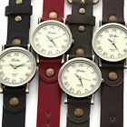 New Retro Bronze Lady Women Mens Bracelet Quartz Wrist Watch Gift