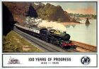 100 Years of Progress, 1835-1935. GWR Vintage Travel Poster by Murray Secretan