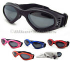 Boys Girls Motorcycle Goggles Motocross Kids Black Pink Red Orange Extra Small