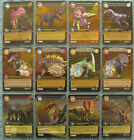 Dinosaur King TCG Choose 1 Alpha Dinosaurs Attack Gold or Colossal Rare Card