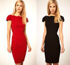 NEW Elegant Cap Sleeve Dress Pencil Dress Party Dress Retail $80