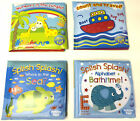 Baby Bath Book, Crayons Plastic Coated Fun Educational Toys Children Kids Play