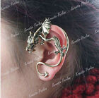 Ohrring Punk Gothic Vintage Drache Ohrklemme Ohrschmuck dragon ear cuff earrings