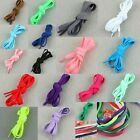Candy Colors Flat Shoelaces Sport Shoe Strings Athletic Sneaker Laces Wholesale