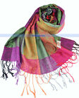 New Soft Pashmina/Cashmere/Silk Shawl/Scarf Multi Color