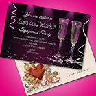 Personalised Engagement Party Invitations Invites E1