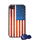 American Flag- iPhone 4 & 4s Silicone Rubber Cover, Cell Case - USA, Patriotic