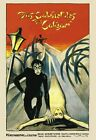 THE CABINET OF DR CALIGARI  RARE 1920 SILENT FILM POSTER A3 REPRINT