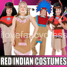NATIVE RED INDIAN FANCY DRESS BOYS GIRLS WILD WEST SCHOOL CURRICULUM COSTUME