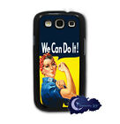 Rosie The Riveter - Samsung Galaxy S3, SIII, Case Cell Cover - We Can Do It!