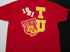 Tuskegee University short sleeve T shirt TSU Golden Tigers Red T shirt L-4X