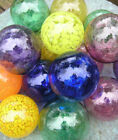 Ornamental handblown glass pond balls