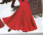 NWT FLAMENCO SKIRT Triple GODET Solid Color Child/Adult Very Full Praiswear