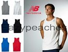 New Balance Men's S-XXL 3XL Running Singlet Workout Tank Gym NB dri fit T-Shirt image