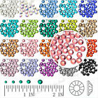 144/1440Pcs Crystal Round Flat Back Rhinestones SS12 Crafts Wholesal Non-Hotfix