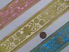 "3Yd Jacquard Trim 2"" wide Woven Border Sew Ribbon T286"
