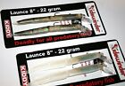 """Sidewinder Lures Launce 8""""-22grm  two colours Available -"""