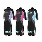 LADIES OSPREY SPREY SHORTIE SHORTY 3mm WETSUIT womens bodyboard kayak surfboard