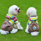New Pet Dog Cat Clothing Suspender Shirt Size S M L