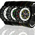 HOT NEW FASHION ROUND BIG TIMEPIECE SILICONE MILITARY MEN BOYS SPORTS WATCH, N36