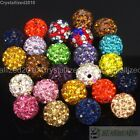 Kyпить 20Pcs Quality Czech Crystal Rhinestones Pave Clay Round Disco Ball Spacer Beads на еВаy.соm