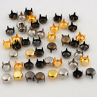 5-12mm 4 colors Round Studs For Decorating Leather Goods Metal Accessories DIY