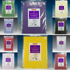 PACKS OF SQUARE PAPER TABLECOVERS TABLECLOTHS DISPOSABLE CHOOSE COLOUR & AMOUNT