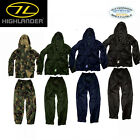 HIGHLANDER TEMPEST WATERPROOF JACKET AND TROUSERS SIZES S-XXL HUNTING FISHING