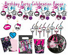Monster High Birthday Party Theme Celebration Supplies All Items Available Gift