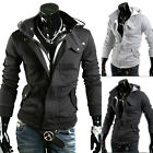 Fashion Men's Slim Fit Hoodie Sweater Male Top Jacket Coat Sweatshirt,Outwear