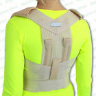 Bad Posture Corrector Brace Back Lumbar Shoulder Problems Good Proper Support