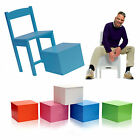 34cm Cajon Chair Hand Drumming Beatboxing Snare Stool Music Funky Furniture Unit