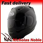 ARAI REBEL FULL FACE STREET STYLED MOTORCYCLE MOTORBIKE HELMET BLACK GLOSS