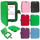 Premium Folio Leather Case Cover Pouch for Barnes & Noble Nook 2 Simple Touch