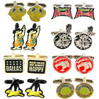 Funky Retro Novelty Cufflinks. Wedding Parties Great Gift for Him