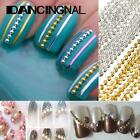 3M Ball Striping Tiny Bling Plated Bead Line Chain Nail Art Decoration Manicure