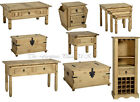 Solid Waxed Pine Coffee Lamp Console Nest Table Chest Wine Rack