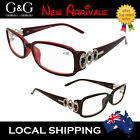 Popular Designer Women Reading Glasses Young Brown Pink 1.0 1.5 2.0 2.5 3.0 3.5